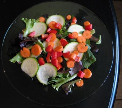 nutrition, diet, low-fat, healthy, salad