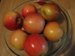 organic fruit, apples