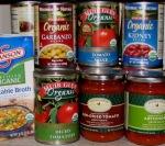 organic broth, organic tomatoes, sauce, organic beans